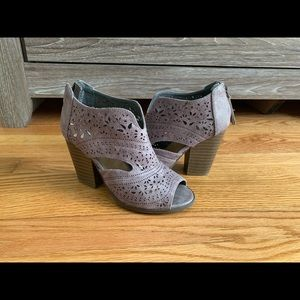Not Rated Cut Out Ankle Boots